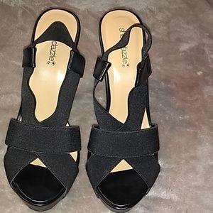 Black nwot heels